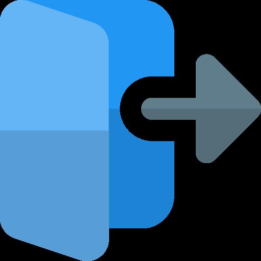 Log out  free icon