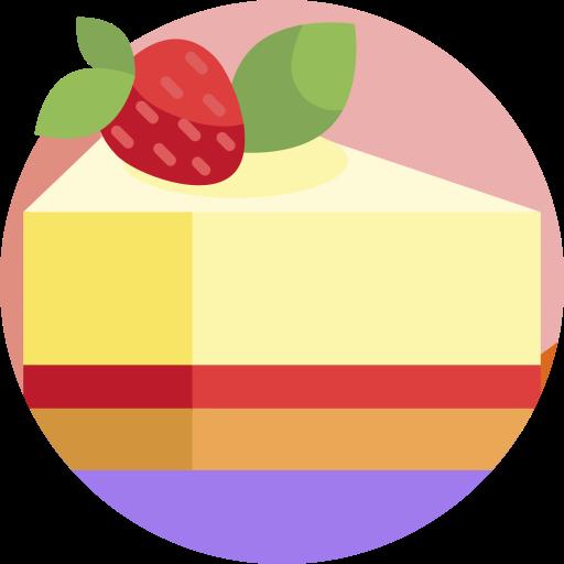 tarta de queso  icono gratis