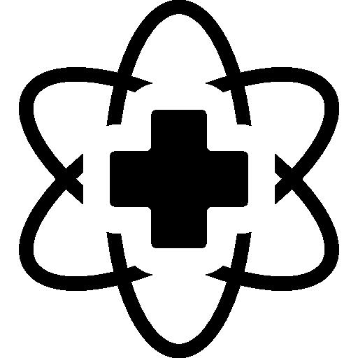 symbole de technologie médicale  Icône gratuit