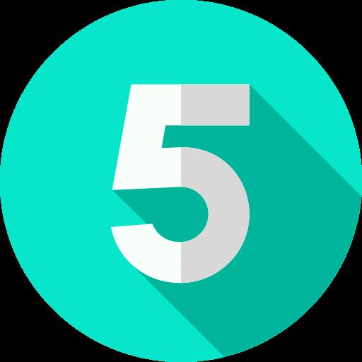 5  free icon