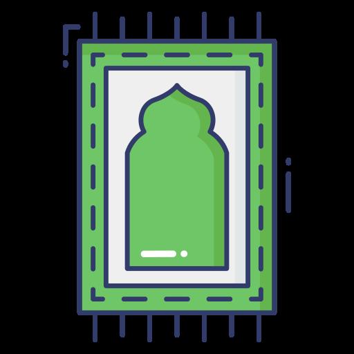 Prayer mat  free icon