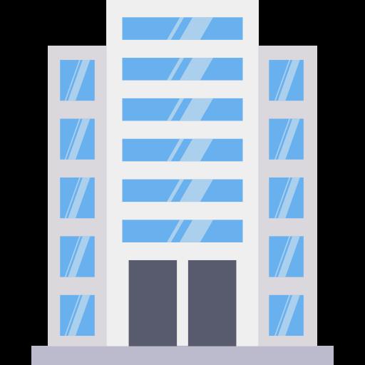 immeuble de bureaux  Icône gratuit