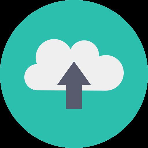 File upload  free icon