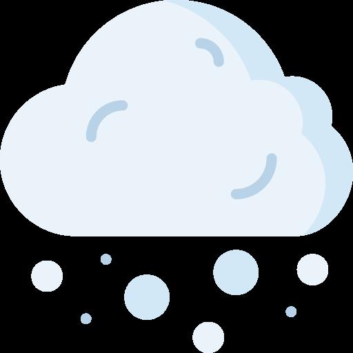 Snowing  free icon