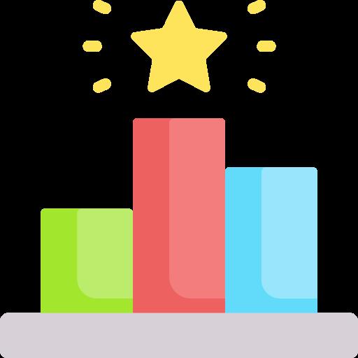 Ranking  free icon