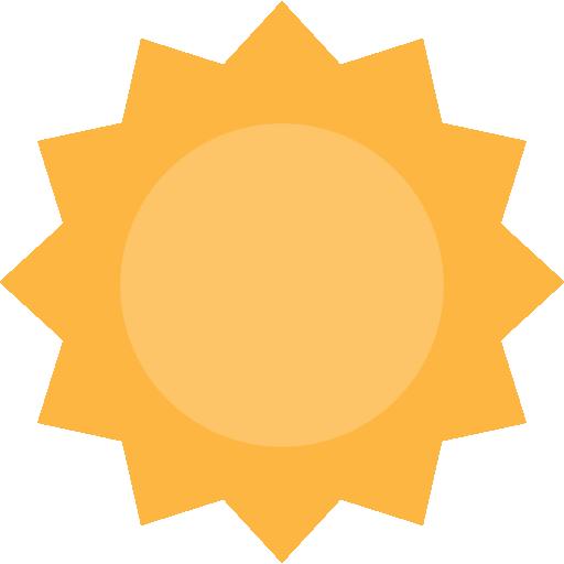 sol  grátis ícone