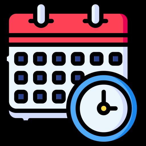 시간표  무료 아이콘