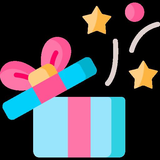 Surprise  free icon