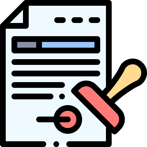 documentos oficiales  icono gratis