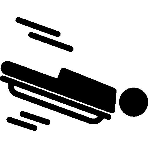 squelette olympique  Icône gratuit