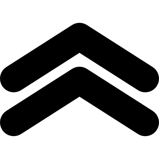 aufwärtspfeile winkelpaar  kostenlos Icon