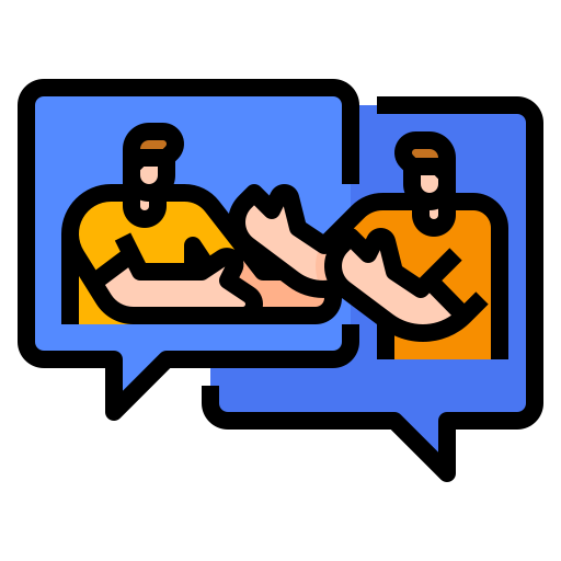 compromiso social  icono gratis