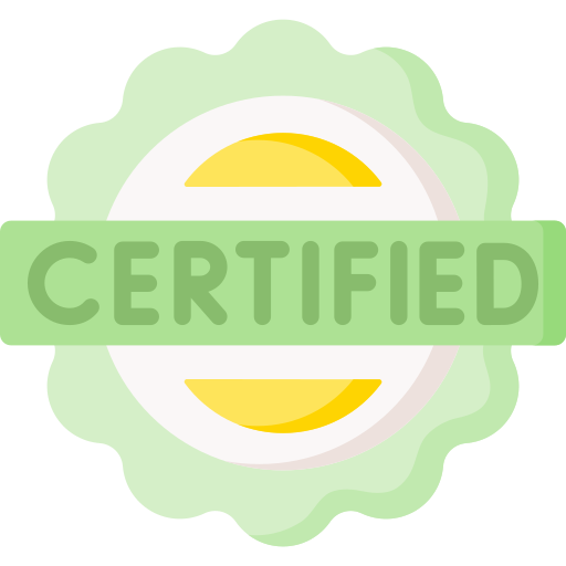 Certified  free icon
