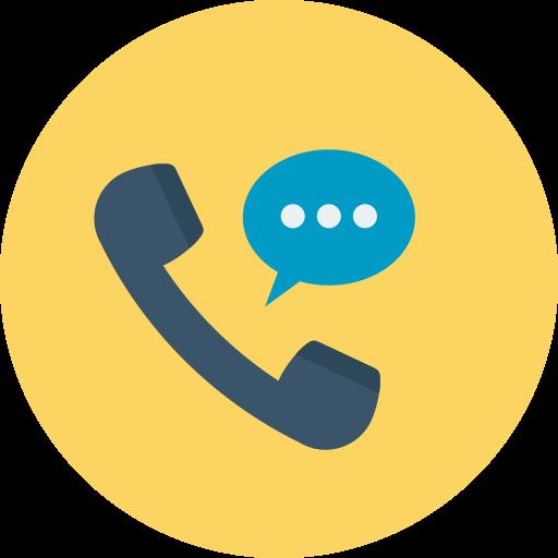 appel téléphonique  Icône gratuit