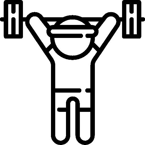 athlète  Icône gratuit