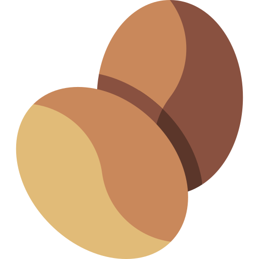 Coffee seed  free icon