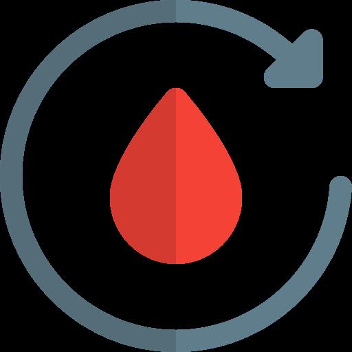 transfusão de sangue  grátis ícone