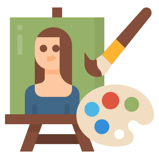 Painting  free icon