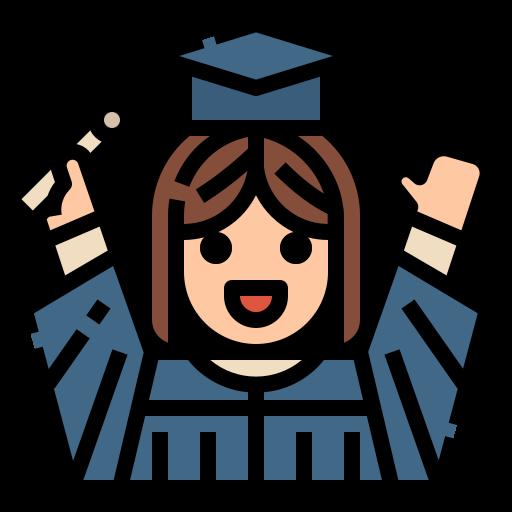 Graduate  free icon