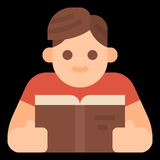 Reading  free icon