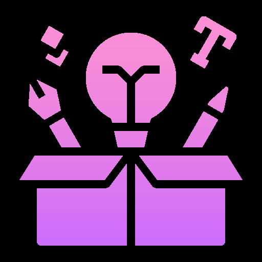 상자 밖으로 생각  무료 아이콘