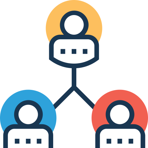 Hierarchical structure  free icon