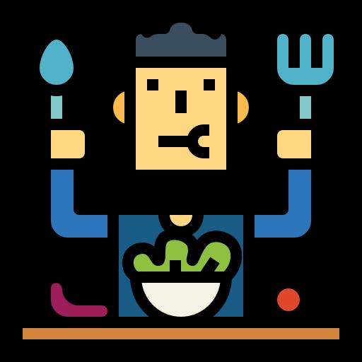 Eating  free icon