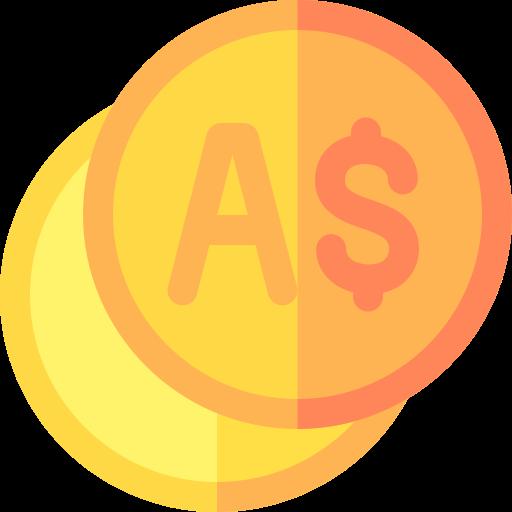 호주 달러  무료 아이콘