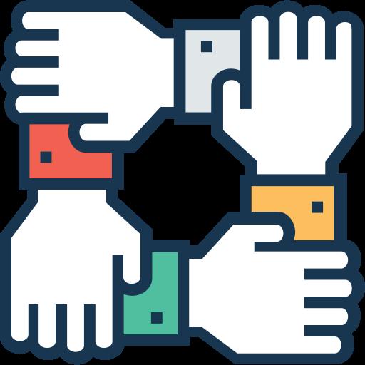 Teamwork  free icon