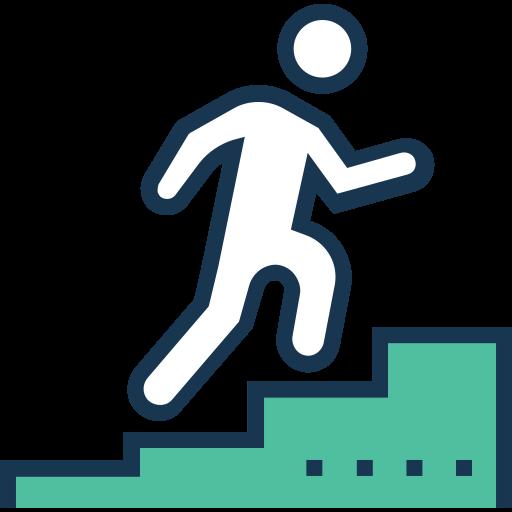 escadaria  grátis ícone