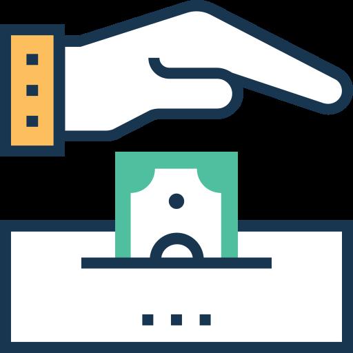 forma de pagamento  grátis ícone