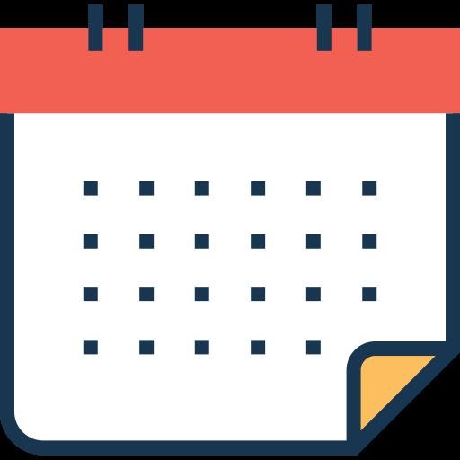 calendário  grátis ícone