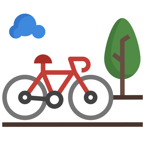 Велосипед  бесплатно иконка