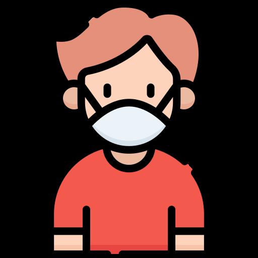 Медицинская маска  бесплатно иконка