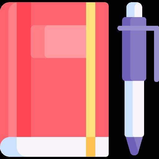 Diary  free icon
