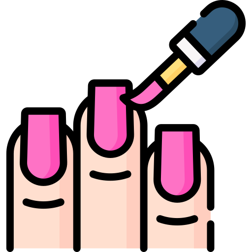 Nail polish  free icon