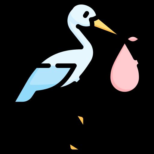 Stork  free icon