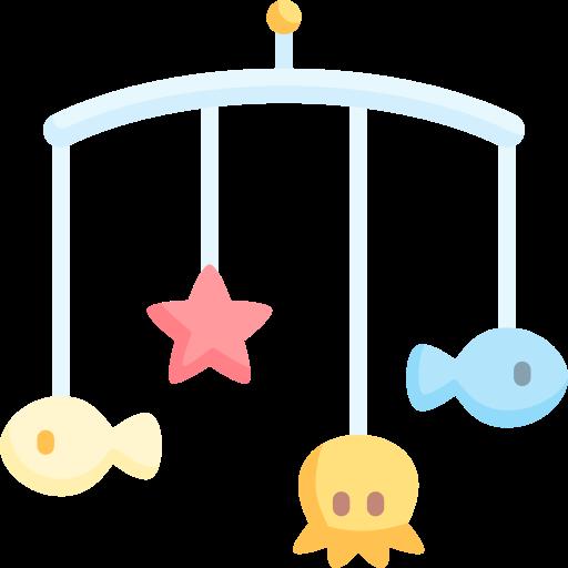Crib mobile  free icon