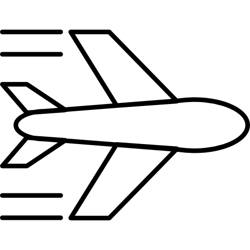 Самолет летит  бесплатно иконка