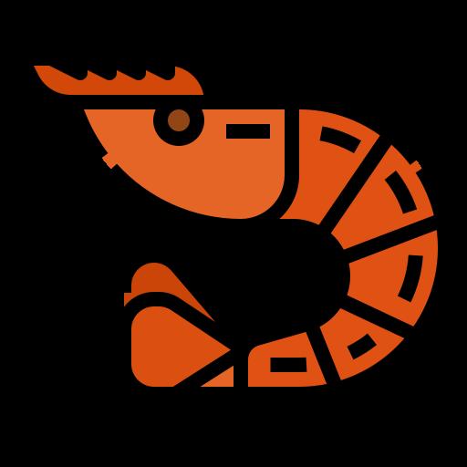camarón  icono gratis