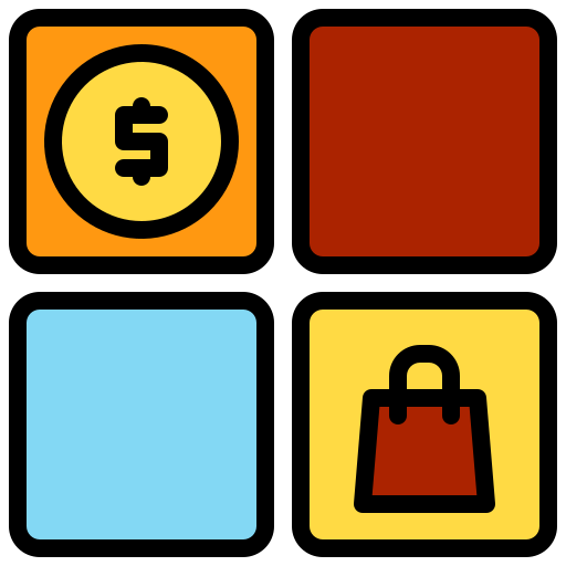 Categories  free icon