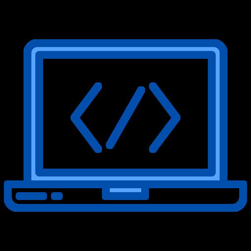 codage web  Icône gratuit