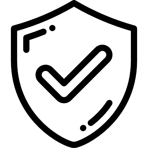 Secure shield free icon