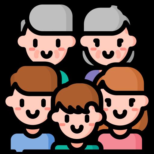 gran familia  icono gratis