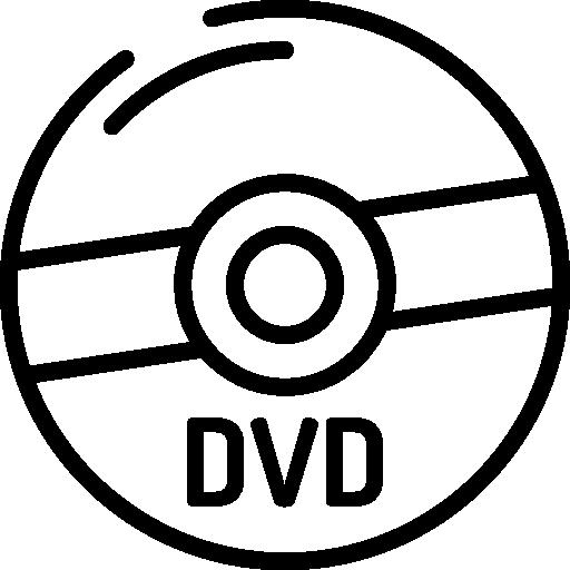 Dvd  free icon