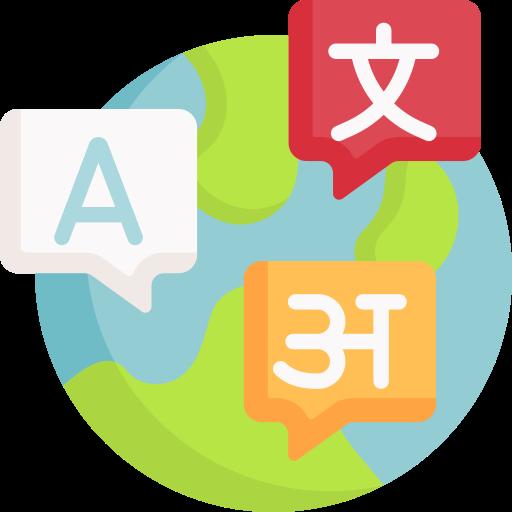 Languages  free icon