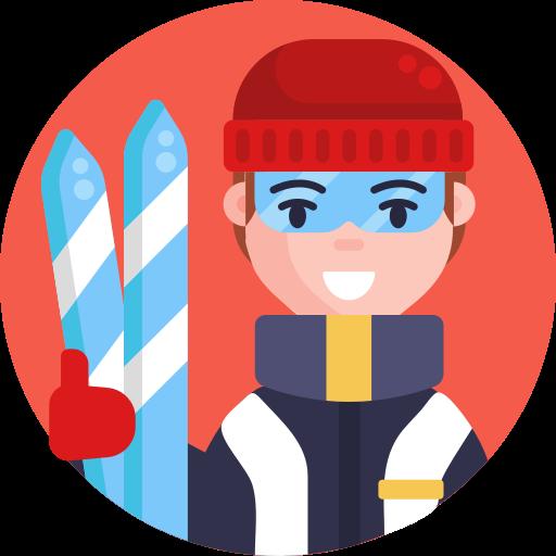 겨울 스포츠  무료 아이콘