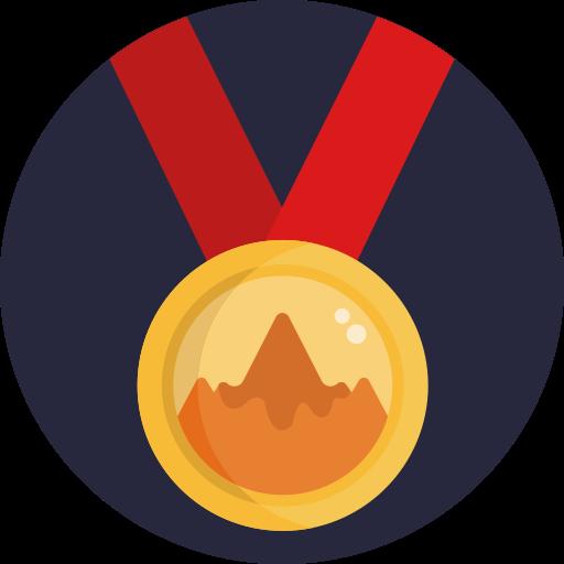 원형 메달  무료 아이콘