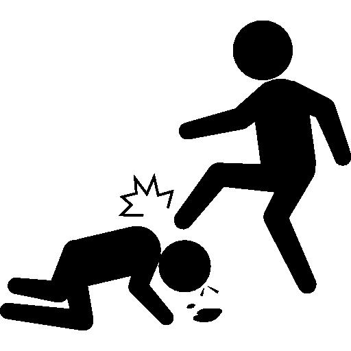 Violent criminal  free icon