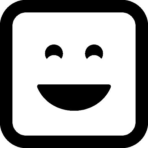 웃는 행복 이모티콘 얼굴  무료 아이콘